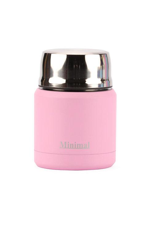 Minimal Insulated Foor Jar - 360 ml - Rose