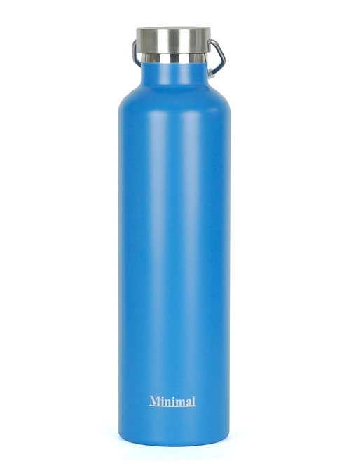 Minimal Insulated Flask- Blue- 1 Litre
