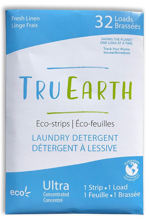Tru Earth Eco Strip Laundry Detergent - Fresh Linen