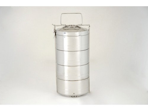 4 layer Double Walled Tiffin