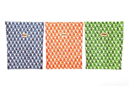 BeeBAGZ Wrap Large Bags - Set of 4