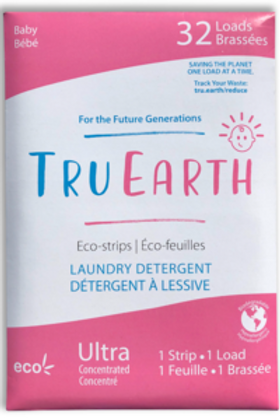 Tru Earth Eco Strips Laundry Detergent - Baby