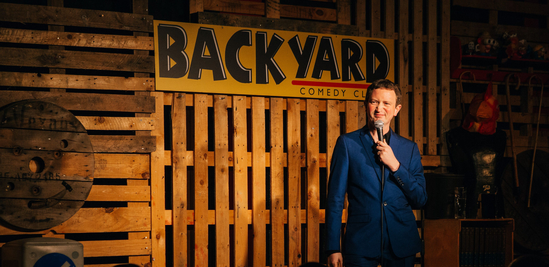 Live at Backyard Comedy Club