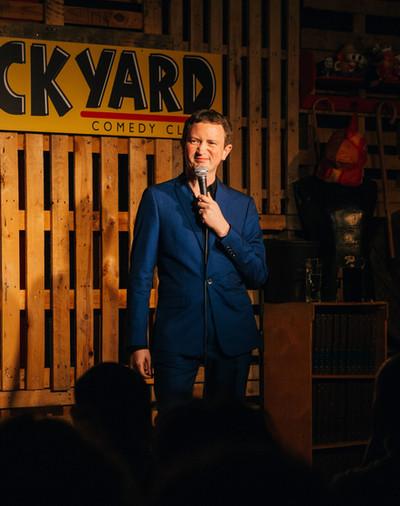 Live at Backyard Comedy Club