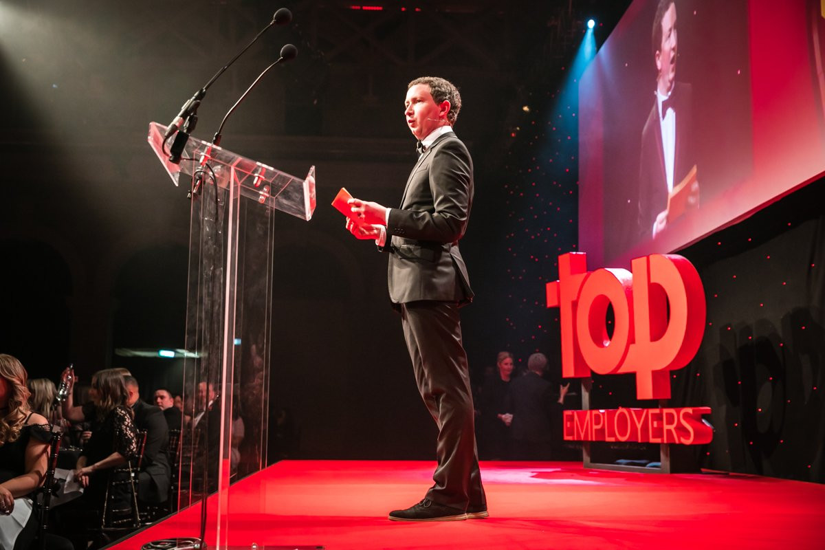 Hosting Top Employers Awards