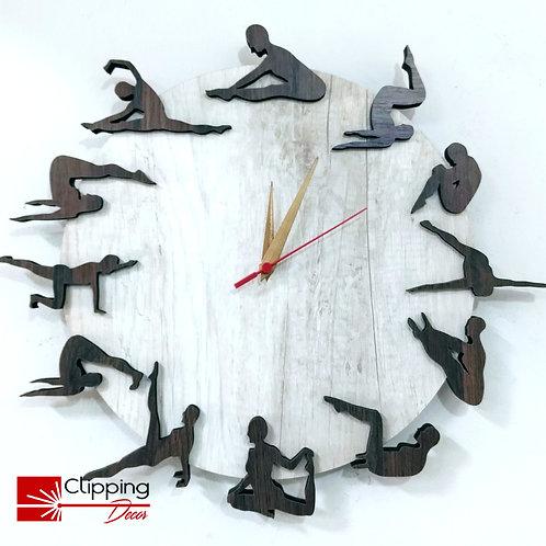 Relógio Pilates