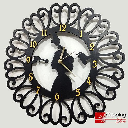 Relógio Salão de Beleza