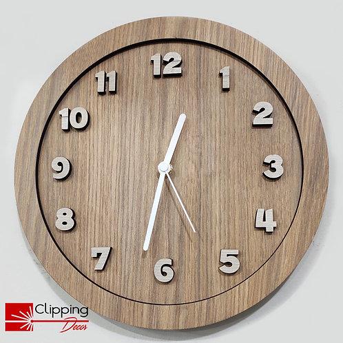 Relógio Barril