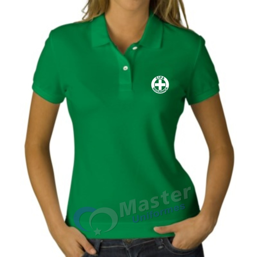 Camiseta Polo baby look