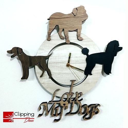 Relógio My Dogs