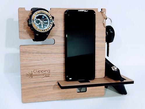 Organizador ( porta celular, chaves, óculos ou relógio, carteira)