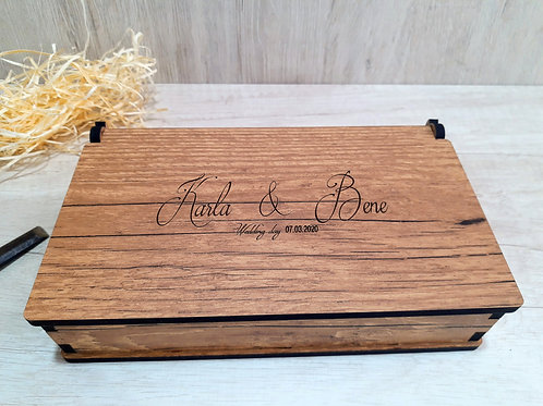 Box para pendrive e fotos 10x15