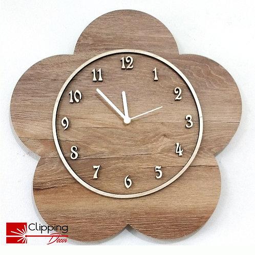 Relógio Flor