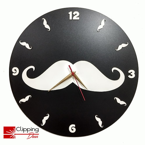 Relógio Bigode