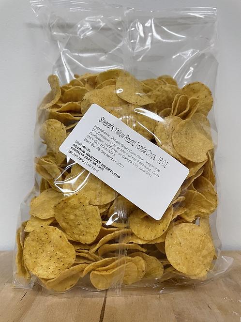 Shearer's Yellow Round Tortilla Chips