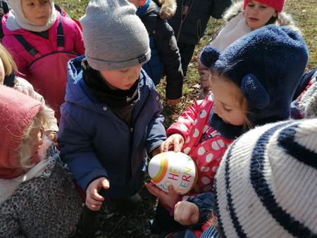 Petite chasse à l'œuf au parcours Vita 🥚