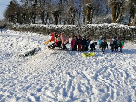 Les joies de la neige en maternelles ❄️😊