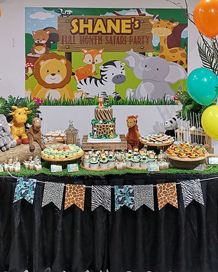 Divine Artisan Safari Dessert Table Singapore