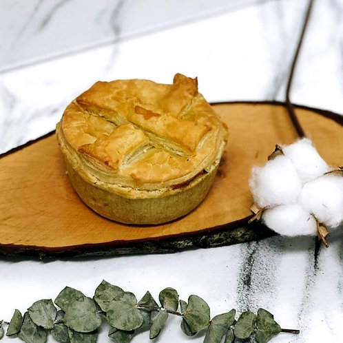 Oven-baked Chicken Mushroom Pie