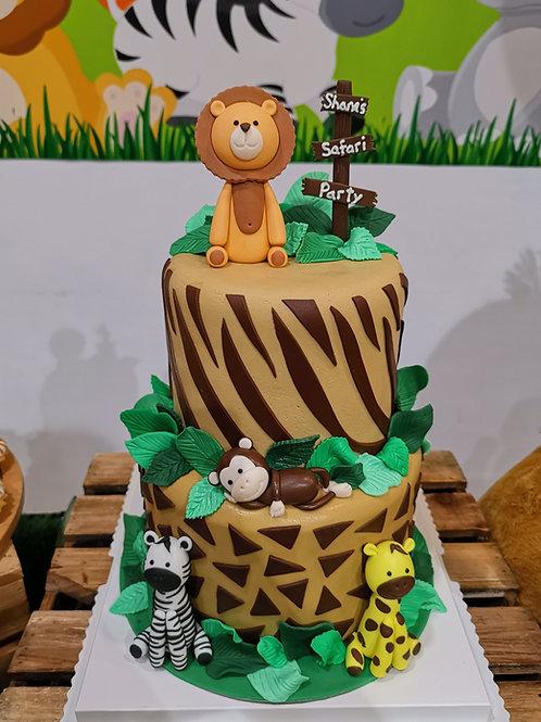 Safari Wonderland Cake