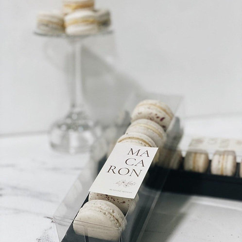 Premium French Macarons (Box of 6)