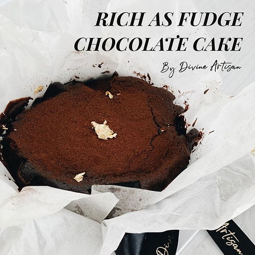 [FATHER'S DAY] Rich as FUDGE Chocolate Cake