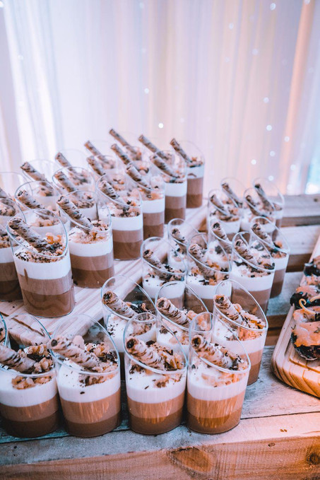 Triple Decadence Chocolate Shooters