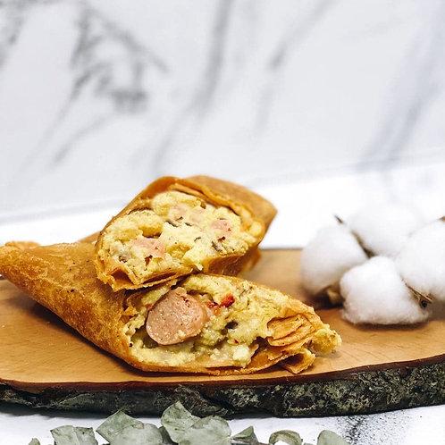 Egg & Chicken Sausage Wrap