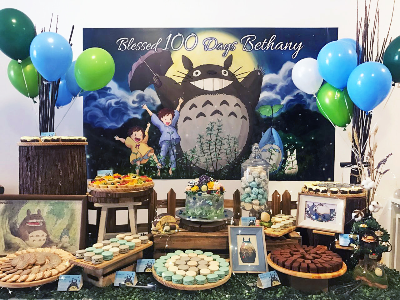 Totoro Dessert Table