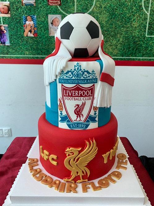 Football FC Cake