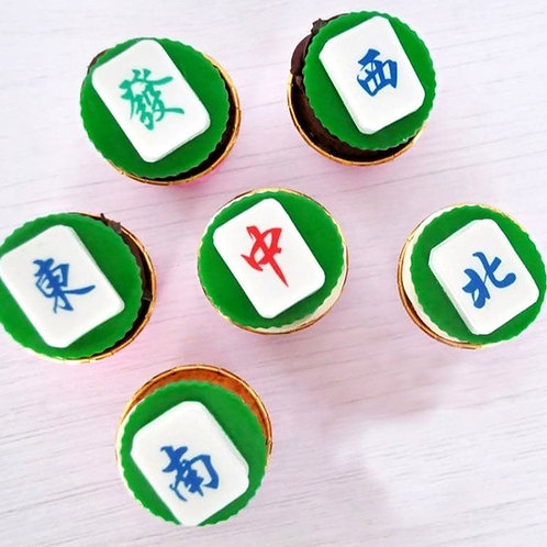 Huat Huat Mahjong Cupcakes (Box of 6)