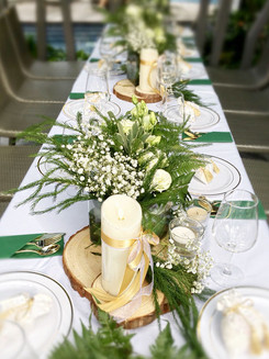 Dining Table Floral Styling (up to ten pax)