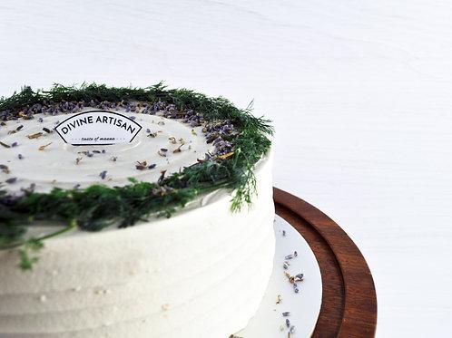 Earl Grey Tea Lavender Cake
