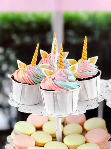 Unicorn Fondant Cupcake