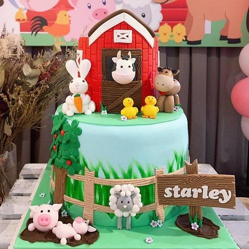 Fun On The Barn Cake