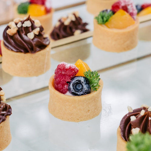 [PREMIUM] Fresh Fruit Tartlets (Bundle of 24)