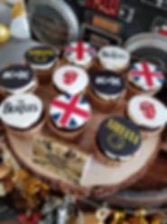 Divine Artisan Rock and Roll Fondant Cupcake Theme Dessert Table Singapore.jpg