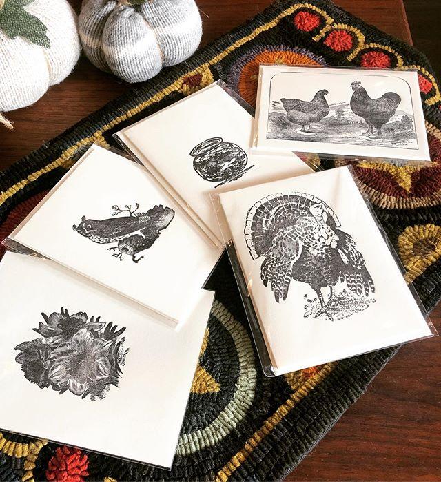 Beautiful letterpress cards that my husb