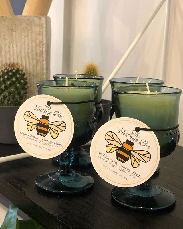 There are some new #vintagebee candles i