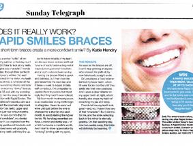 Daily Telegraph - Rapid Smiles