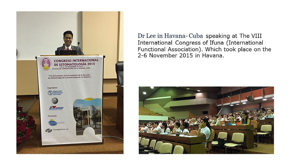 Dr Kenneth Lee was the invited speaker at the 8th International Congress if IFUNA
