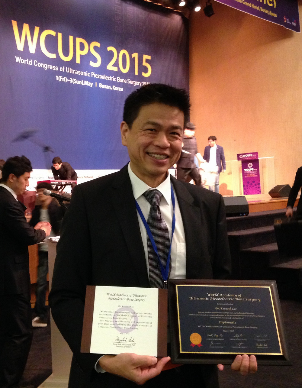 Dr Kenneth Lee International Board Member for WAUPS