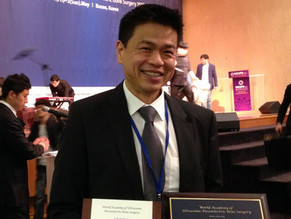 Dr Kenneth Lee appointed as International Board Member for WAUPS