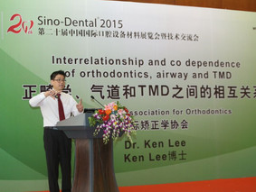 Dr Lee as a guest speaker at Sino-Dental 2015 Convention in Beijing