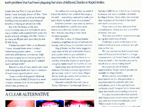 Mindfood Magazine - Rapid Smiles