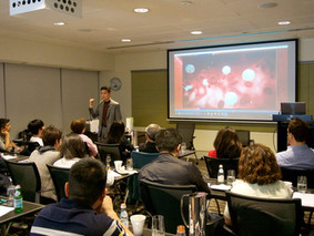 CGF (concentrated growth factor) was the topic of the lecture given by Dr Kenneth Lee in Sydney