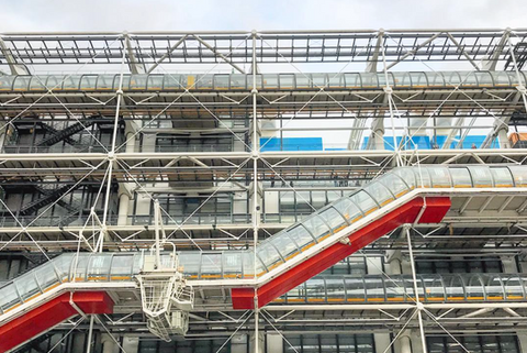 Pompidou, Paris, 2017
