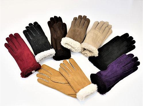 Fingerhandschuh Luxus -Fellumschlag