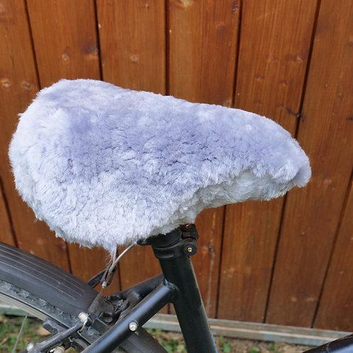 Lammfell Fahrradsattel