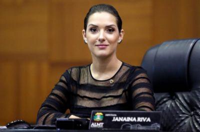 Pleno do TRE rejeita pedido para cassar deputada estadual Janaina Riva.